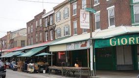 Italiensk marknad för södra 9th gata i Philadelphia Royaltyfri Fotografi