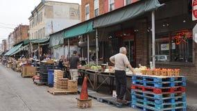 Italiensk marknad för södra 9th gata i Philadelphia Royaltyfri Bild