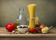 Italiensk mat arkivfoto