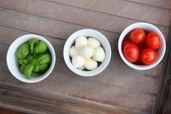 Italiensk mat Arkivbilder