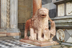 Italiensk medeltida religiös konst arkivbild