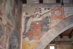 Italiensk medeltida religiös konst Arkivbilder