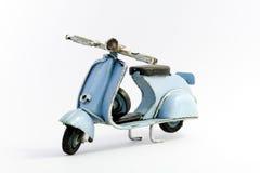 italiensk motorcykel Royaltyfri Fotografi