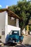 italiensk mycket liten lastbil Fotografering för Bildbyråer