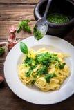 Italiensk ny pasta Royaltyfri Foto