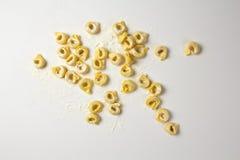 Italiensk ny pasta Fotografering för Bildbyråer