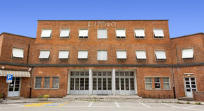 italiensk offentlig byggnad för 30-tal Royaltyfria Foton