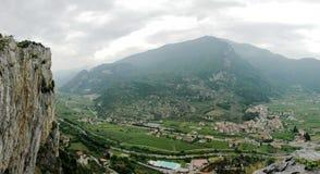 italiensk panorama Royaltyfria Foton