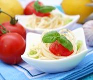italiensk pasta Fotografering för Bildbyråer