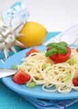 italiensk pasta Arkivbild