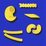 italiensk pasta royaltyfri illustrationer