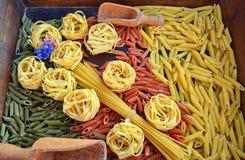 italiensk pasta Arkivfoton