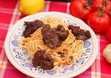 italiensk pasta royaltyfri bild