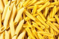 Italiensk pasta, bakgrundstextur Arkivfoto