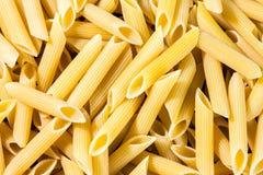 Italiensk pasta, bakgrundstextur Arkivfoton