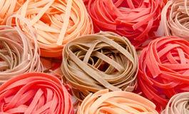 Italiensk pastabakgrund Royaltyfri Foto