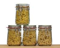 Italiensk pastabakgrund Arkivbilder