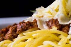 italiensk pastaspagetti royaltyfria foton