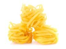italiensk pastatagliatelle Royaltyfria Bilder