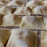 italiensk pastatextur Fotografering för Bildbyråer