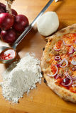 Italiensk pizza Royaltyfria Foton