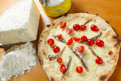 Italiensk pizza Royaltyfri Bild