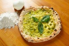 Italiensk Pizzasakkunnig Royaltyfri Fotografi