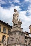 Italiensk poet Dante Alighieri Fotografering för Bildbyråer