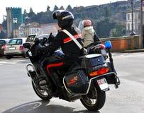 italiensk polis arkivfoto