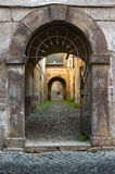 italiensk portal Royaltyfria Foton