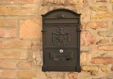 Italiensk postbox Royaltyfri Fotografi