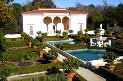 Italiensk renässansträdgård i Hamilton Gardens New Zealand Arkivfoton