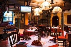 italiensk restaurang Royaltyfria Bilder