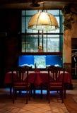 italiensk restaurang Fotografering för Bildbyråer