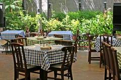 italiensk restaurang Royaltyfria Foton