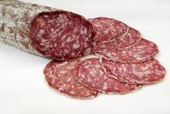 Italiensk salami Royaltyfri Fotografi