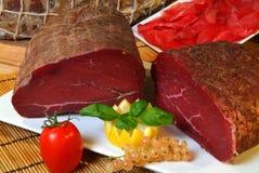 Italiensk skinkasammansättning Fotografering för Bildbyråer