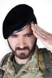 Italiensk soldat fotografering för bildbyråer