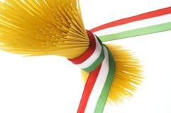 italiensk spagetti Arkivfoto