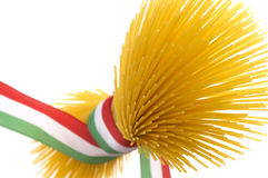 italiensk spagetti Arkivbild