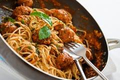 Italiensk spagetti royaltyfri foto