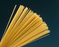 italiensk spagetti Royaltyfria Foton
