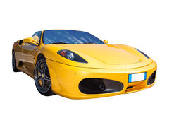 Italiensk sportbil Fotografering för Bildbyråer