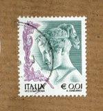 italiensk stämpel Royaltyfri Fotografi
