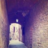 Italiensk stad Arkivbild