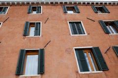 Italiensk stad av Venedig Arkivbilder