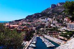 Italiensk stad i eftermiddagen Arkivfoto