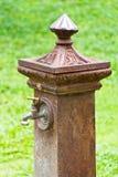 Italiensk stilvattenkran. Royaltyfri Fotografi