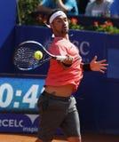 Italiensk tennisspelare Fabio Fognini Arkivfoto
