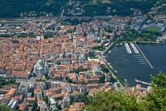 italiensk town Arkivbilder